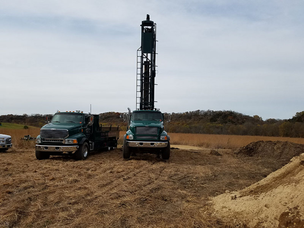 Explore all of our well drilling services